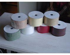Zsákvászon hatású anyag 6db/csom - OKOS ÁR! - Textil szalag - kosarbolt