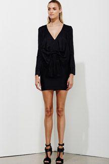 Evaporate Dress - Black - HALF PRICE!