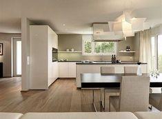 20 Kitchen Islands Glam Great Ideas ~ Home Decor Journal Kitchen Room Design, Best Kitchen Designs, Modern Kitchen Design, Home Decor Kitchen, Interior Design Kitchen, Home Kitchens, Kitchen Ideas, Open Plan Kitchen, New Kitchen
