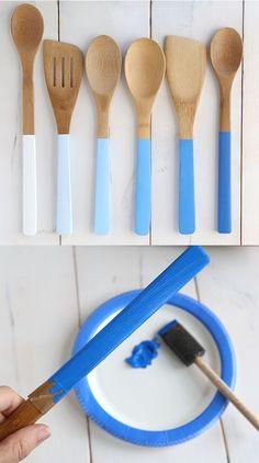 Diy rápido e prático para os utensílios da cozinha