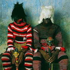 WEST AFRICAN RITUAL DRESS - GALEMBO  Photographs by PHYLLIS GALEMBO via BUT DOES IS FLOAT.