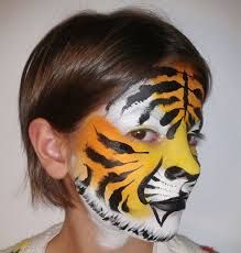 Maquillaje animales circo para niños. Animals make up for kids, circus