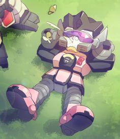 Topjoy is relaxing. (Iron Leaguer)