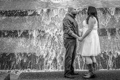Fort Worth Water Gardens Engagement Shoot   Forth Worth Engagement Photography   Proof Photography