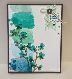 Happy Watercolor Shades of Blue http://3boymomstamps.blogspot.com/2014/05/happy-watercolor-shades-of-blue.html