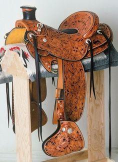 Wade Saddles, Horse Saddles, Horse Gear, Horse Tack, Old West, Leather Tooling, Beautiful Horses, Leather Craft, Cowboys