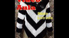 Blusa em Crochet - TAM ÚNICO - M - PARTE 1 - YouTube