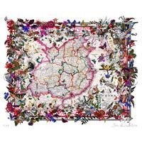 Kina in Bloom 2014 by Kristjana S Williams: Category: Art Currency: GBP Price: GBP295.00 Retail Price: 295.00 The art of cartography…