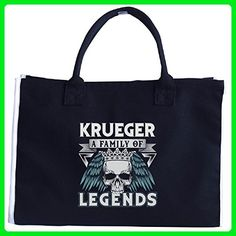 Krueger A Family Of Legends - Tote Bag - Top handle bags (*Amazon Partner-Link)