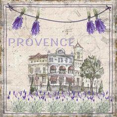 UtArt: Provence-meine Liebe - Bild auf Alu-Verbundplatte  by #UtArt