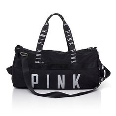 Mochila Victoria Secret, Victoria Secret Bags, Victoria Secrets, Pink Duffle Bag, Duffle Bags, Pink Gym, Cute Backpacks, Leather Backpacks, Cute Bags