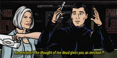 27 Times When Sterling Archer Was The Perfect Role Model Archer Tv Show, Archer Fx, Archer Funny, Archer Quotes, Sterling Archer, American Cartoons, Tonight Alive, Thomas Brodie Sangster, Best Shows Ever