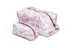 News for your bath! Florence Design paisley make-up and toilet bag! we <3 them!
