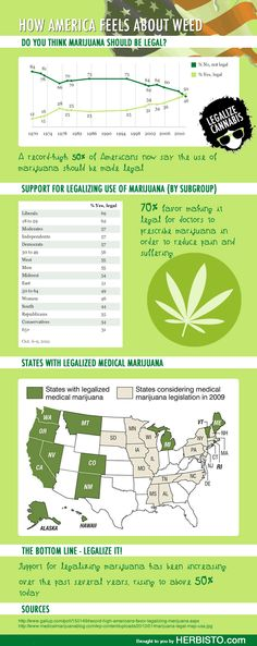 Over 50% of Americans believe marijuana should be legalized. What do you think?