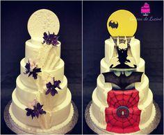 2 sides Wedding cake