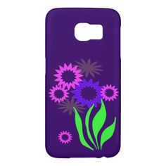Whimsical Spring Flowers Samsung Galaxy S6 Cases