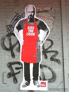 Breaking Bad street art in NYC