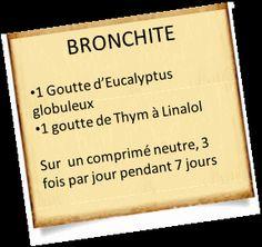 bronchite aigue encayptus Traitez votre bronchite aigue avec les huiles essentielles   Résultat garanti