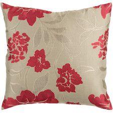 Beatrix Wild Flowers  Throw Pillow