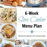 6-Week Slow Cooker Menu Plan