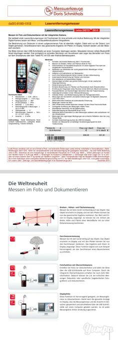 ... der neue Laserdistanzmesser ´Leica DISTO D810´ lässt keine Wünsche mehr offen ;-) ... A@D