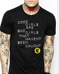 Good girls 5 Seconds Of Summer  black Men T-Shirt