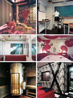 18 (More) Crazy, Creepy and Kinky Hotel Rooms: From Japanese Fantasy to Time-Lapse Photography Love Hotel Japan, Themed Hotel Rooms, Dungeon Room, Playroom Furniture, Boutique Interior, Hotel Motel, Secret Rooms, Hotel Decor, Room Themes