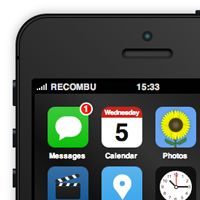 Interactive Apple iPhone 5S & iOS7 Concept Built With Only HTML, CSS & Javascript