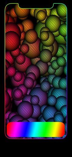 iPhone X Wallpaper 458733912039576161 Future Wallpaper, Framed Wallpaper, Apple Wallpaper, Colorful Wallpaper, Mobile Wallpaper, Phone Backgrounds, Iphone Wallpapers, Wallpaper Backgrounds, Pride Colors