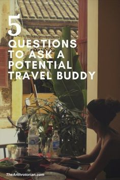 Important questions to ask a potential travel buddy, travel planning, travel tips, tips for new travellers or travelers, travelling with another person, preparing for a trip, travel, adventure, what to ask your travel partner, setting a budget, planning