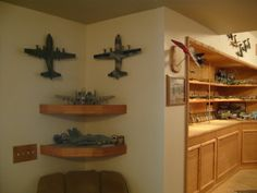 displaying model aircraft - Google Search