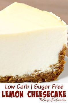 Low carb sugar free cheesecake this could be made keto too great dessert recipe to make for the holidays parties or birthdays as well lowcarb easy recipe cheesecake kito homemade sugarfree dessert Great Desserts, Low Carb Desserts, Low Carb Recipes, Desserts For Diabetics, Diabetic Dessert Recipes, Low Carb Dessert Easy, Diabetic Desserts Sugar Free Low Carb, Easy Recipes For Desserts, Diabetic Deserts