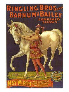 Ringling Bros Circus Barnum and Bailey, USA