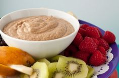 "Made this tonight! D said ""It tastes like apple cobbler"" Delish!!! Apple Spice Fruit Dip - Vegan and good for you!!"