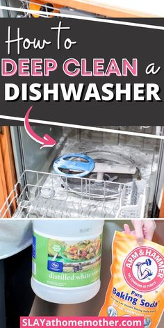 Deep Cleaning Checklist, Deep Cleaning Tips, Household Cleaning Tips, House Cleaning Tips, Diy Cleaning Products, Cleaning Hacks, Cleaning Solutions, Cleaning Your Dishwasher, Move Out Cleaning