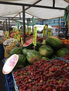 Dappermarkt in Amsterdam, Noord-Holland