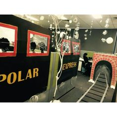 Office Decorations Polar Express Polarexpress Officedecorations More