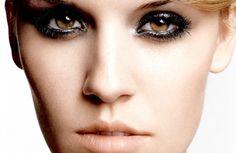 マギーの猶予、有名な女優、美しいメイクアップ、マスカラ、顔写真 壁紙