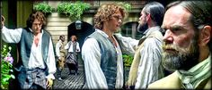 Jamie and Murtagh #outlander #season2 @samheughan @LacroixDuncan