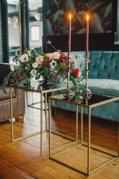 Carol Hannah Iolite gown real wedding inspiration