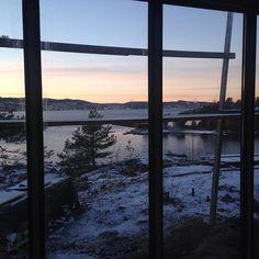 Gled deg til å nyte utsikten fra en av de fantastiske hyttene - blir hyttene klare til påske?