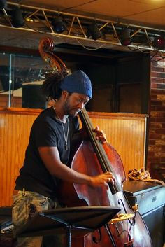 bassist Ben Williams is currently touring (performing) with Pat Metheny Unity Band