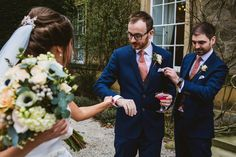 Middleton Lodge Wedding Ceremony by York Place Studios #yorkplacestudios #middletonlodge