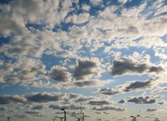 A fleet of clouds. Cloud Quotes, Cool Landscapes, Beautiful Images, Quote Of The Day, Clouds, Outdoor, Phrase Of The Day, Outdoors, Outdoor Games