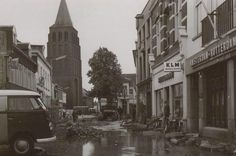 Steenstraat Boxmeer (jaartal: 1980 tot 1990) - Foto's SERC