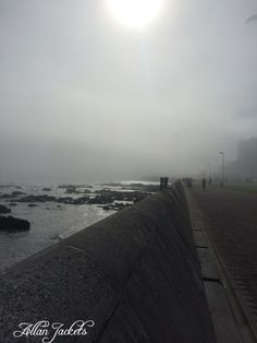 Promanade Cape Town misty dawn