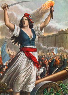 Según la historiografía clásica, la Revolución francesa marca el inicio de la Edad Contemporánea al sentar las bases de la democracia moderna, lo que la sitúa en el corazón del siglo XIX. Abrió nuevos horizontes políticos basados en el principio de la soberanía popular, que será el motor de las revoluciones de 1830, de 1848 y de 1871.