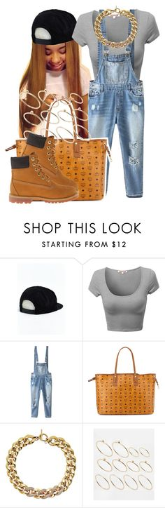 """."" by trillest-queen ❤ liked on Polyvore featuring Brixton, Relaxfeel, MCM, Michael Kors, ASOS and Timberland"