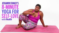 Stanley's Yoga Flow Is All About Practicing Self-Love We're practicing self-care while staying active in this eight-minute flow with body-positive yogi and Every Body Yoga author Jessamyn Stanley. Quick Weight Loss Tips, Weight Loss Help, Lose Weight In A Week, Weight Loss Program, Lost Weight, Reduce Weight, Fitness Motivation, Weight Loss Motivation, Exercise Motivation