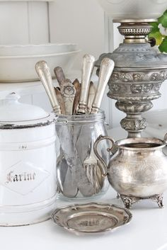 in a jar like mine :)  {old silver}